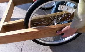 Homemade Goat Cart Pack Goat Buggy Bike Trailer
