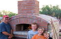 Homemade Pizza Oven Construction Thumbnail