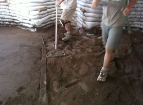 Radiant Floor Construction Soil Cement Home Application