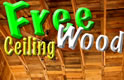 Free Wood Ceiling with Pallets Construction Thumbnail