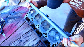 How to Check for Warped Cylinder Engine Head