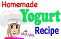 Homemade organic yogurt recipe