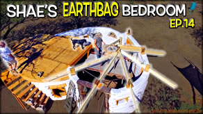 Reciprocal Roof Construction Start  | Shae's Earthbag Bedroom Ep14 | Weekly Peek
