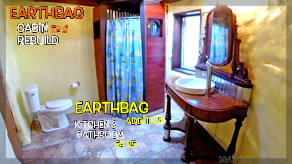 Cabin Bag Layers, Install Vanity & Soil Cement Subfloor! | Earthbag Kitchen & Bath Ep25| Cabin Ep2