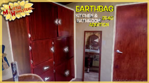 Aluminum Cast Cabinet Handles, Building Cabs & Decor  | Earthbag Kitchen & Bath Ep40 | Weekly Peek