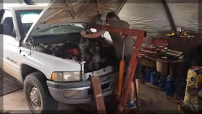 Engine Removal, Tear Down And Installation | Time lapse of Dodge Ram 5.9 Engine