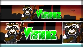 Speed Art of Visionz Revamp Banner & Profile!
